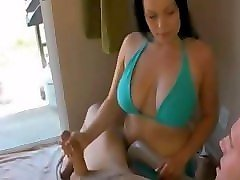 Masturbation, Jerking, Caught, Mature mom caught boy when jerking off, Pornhub.com