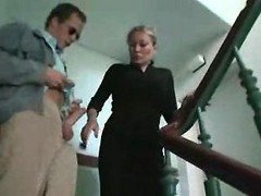 Bus, Mom, Outdoor, Handjob outdoor, Xhamster.com