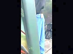 Bus, Public, Caught, Caught wanking by wife, Xhamster.com