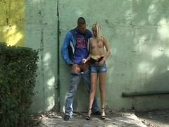 Handjob, Outdoor, Tied up outdoors, Xhamster.com