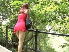 Teen, Dress, Outdoor, Outdoor bondage, Xhamster.com