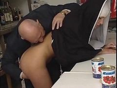 Nun, Old Man, Swingers piss, Xhamster.com