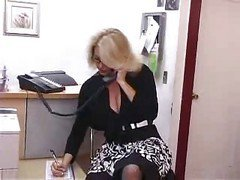 Bus, Office, Secretary, Office lady getting her small tit, Xhamster.com