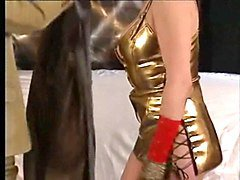 Classic, Latex, Ass, Panties ripped off in bathroom, Xhamster.com