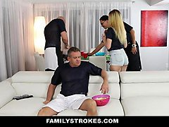 Teen, Uncle, Uncle get pregnent mom and dauther, Xhamster.com