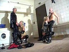 Group, Rubber, Rubber maid bondage, Xhamster.com
