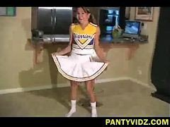 Asian, Panties, Cheerleader, Cheerleader gang, Gotporn.com