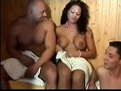 Sauna, Bi in the sauna, Xhamster.com