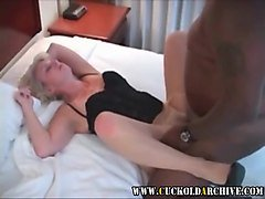 Husband, Wife, Cuckold, Husband films his wife fucking this big, Xhamster.com