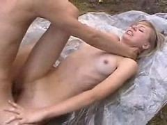 Bus, Outdoor, Blonde outdoors stripping, Xhamster.com