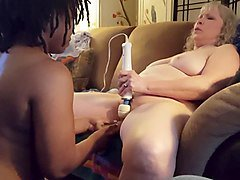Chubby, Lesbian, Interracial, Blonde chubby creampie interracial, Xhamster.com