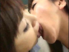 Kissing, Lesbian tongue kissing and pussy liking, Xhamster.com