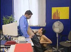 Office, Secretary, Black angelica office anal, Gotporn.com