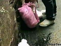 Amateur, Anal, Teen, Busty big butts outdoors, Gotporn.com