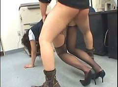 Office, Police, Office pantyhose, Xhamster.com