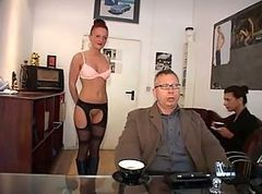 German, Secretary, Dirty german, Xhamster.com