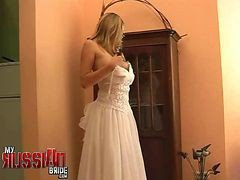 Bride, Russian, Wedding, Wedding bbw, Gotporn.com