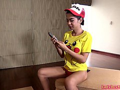 Emo, Ladyboy, Two yong ladyboy fuck each other, Sunporno.com