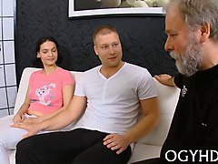 Teen, Old Man, Indian girl fucked by old man, Gotporn.com