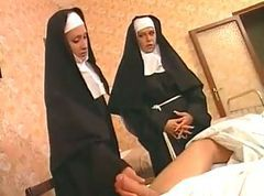 French, Nun, Pissed over cunt, Tube8.com