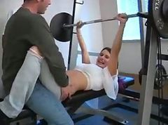 Gym, Monica gym, Tube8.com