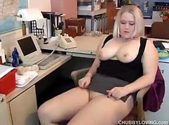 Amateur, Blonde, Chubby, Milf at doctors office, Drtuber.com
