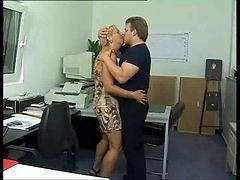 Anal, Office, German, Fuck strapon in office, Xhamster.com