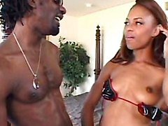 Black, Big Cock, Black tranny masturbation, Tube8.com