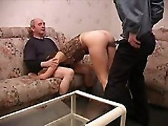 Teen, Old Man, Threesome, Old man and young girl, Tube8.com