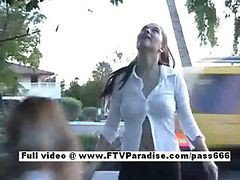Outdoor, Remote controlled pussy outdoor, Drtuber.com