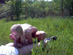 Blonde, Teen, Outdoor, Interracial outdoor, Xhamster.com