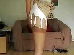 Stockings, Fully fashioned stockings, Xhamster.com