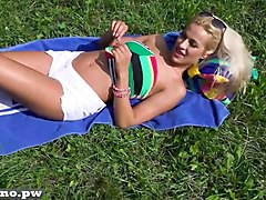 Indian desi housewife fucking hard in park, Gotporn.com