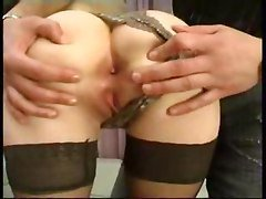 French, Stockings, Stocking anal, Gotporn.com