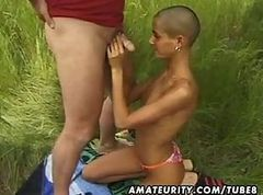 Amateur, Black, Girlfriend, Teen outdoor, Tube8.com