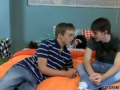 Anal, Kissing, Young gay boys in ebon, Tube8.com