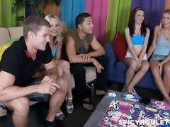 Game, College, Teen, Truth or dare sex game, Xhamster.com