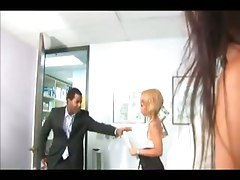 Office, Office handjob, Tube8.com