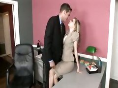 Office, Asian office lesbian, Tube8.com
