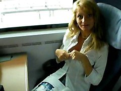 Milf, Train, Train station, Xhamster.com