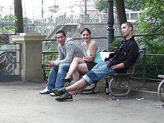 Public, Threesome, Outdoor, Work outdoor, Xhamster.com