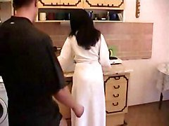 Hairy, Kitchen, Sun in low fuck wife mom in kitchen, Xhamster.com