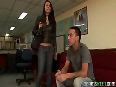 Latina, Office, German fucked by everybody in the office, Tube8.com