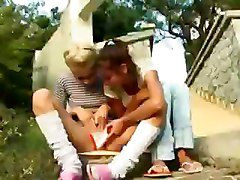 Lesbian, Kissing, Teen, Young cute teens kissing, Tube8.com