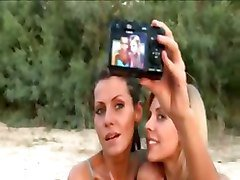 Lesbian, Beach, Girlfriend, Share girlfriend, Tube8.com