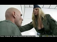 Blonde, Police, Milf, Old police, Tube8.com