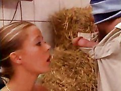Farm, Babe, German, Farm girl, Redtube.com