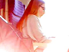 Glasses, Ass, Train, Pervs on a train, Xhamster.com
