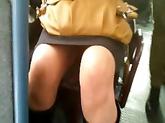 Bus, Upskirt, Japanese in bus, Xhamster.com