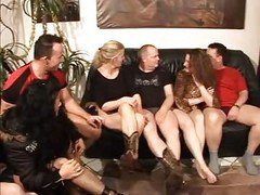 German, Couple, Russian old and young swinger couple episode, Xhamster.com